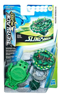 Beyblade Sling Shock Turbo - Hazard Kerbeus K4 - Original