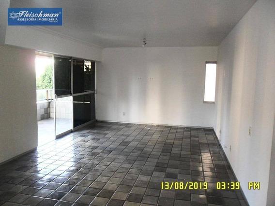 Apartamento Com 4 Dormitórios À Venda, 180 M² Por R$ 800.000 - Casa Forte - Recife/pe - Ap1617