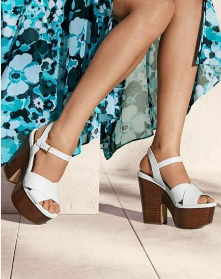 Zapatos De Plataforma Wedges Michael Kors Talla 27 Cm Usado