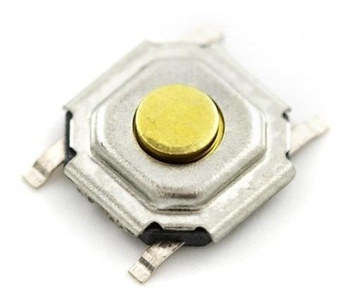 Micro Tac Interruptor Pulsador 4*4*1.5mm  X 6 Unidades