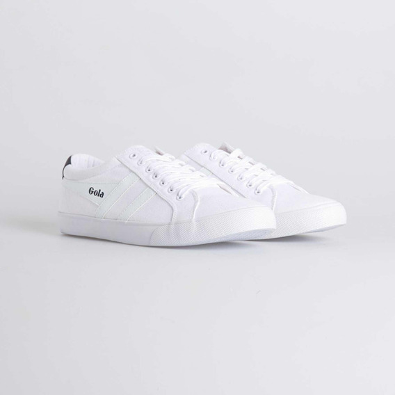 Zapatillas Gola Modelo Varsity Blancas