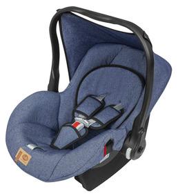 Bebê Conforto Cadeirinha Carro Jeans Cj - Tutti Baby