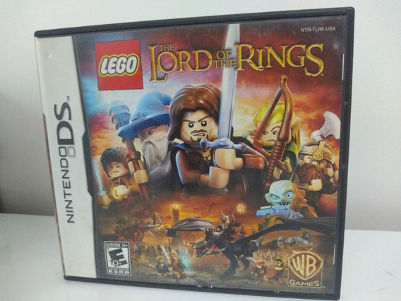 Jogo Lego Lord Of The Rings Nintendo Ds