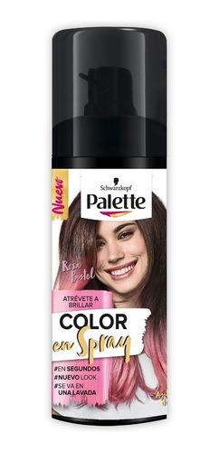 Retoca Raices Palette Color En Spray Rosa Pastel X 120ml