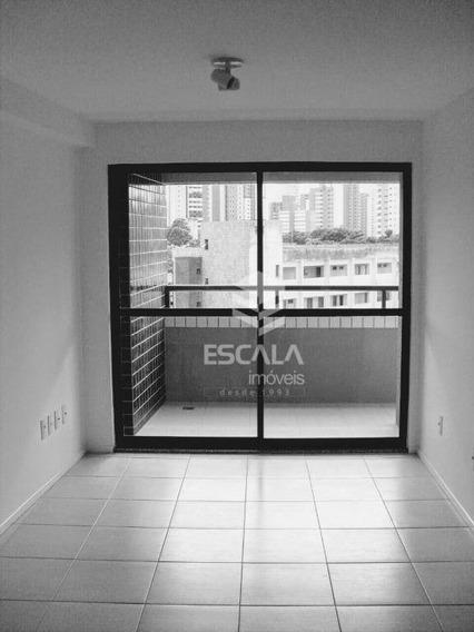Apartamento Com 2 Quartos À Venda, 61 M², Lazer Completo, Financia - Meireles - Fortaleza/ce - Ap1707