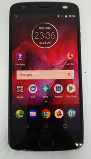 Motorola Xt1789-05 Z2 Force 64gb Original Vitrine Burn-in