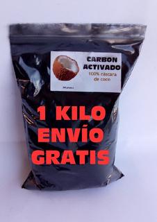 Carbon Activado 1 Kilo Envio Gratis Cascara De Coco