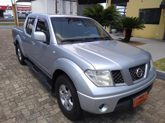 Nissan Frontier Xe 2009 - Prata - Diesel - Conservada