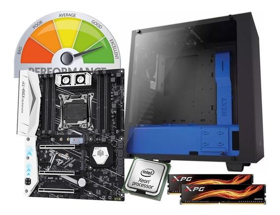 Workstation 32gb Ddr4 Xeon 3.3ghz Adobe Gtx1060 Ssd Pc Gamer