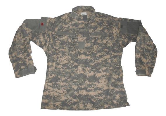 Chaqueta Militar - L - Camuflado Digital - Ejercito Usa 026