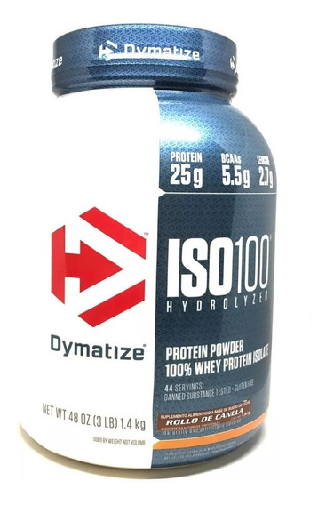 Proteina Dymatize Iso 100 3 Lbs Envio Gratis