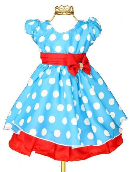 Vestido Festa Infantil Temático Galinha Pintadinha Jm11311