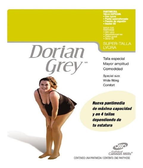2 Pantimedias Dorian Grey Super Talla Con Lycra