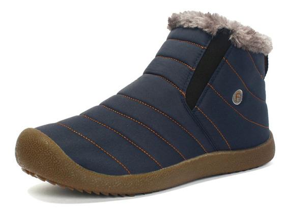 Botas De Nieve Casuales Cálidas Para Los Hombres 24cm-29cm