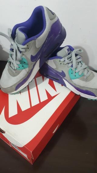 Zapatillas Nike Air Max 90 Original Usadas Excelente Estado!