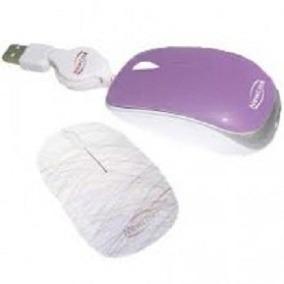 Mini Mouse Newlink Retrátil Shiny Mo212c - Roxo