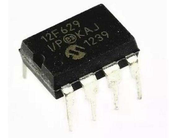 Microcontrolador Pic12f629-i/p Ci12f629 12f629 Arduino