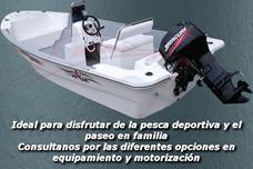 Lancha 5.10 Mts Pescadora Tango Traker 3v Cero Horas 2017