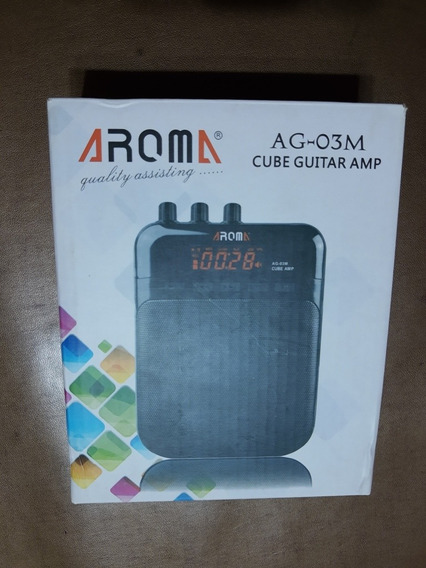 Amplificador De Guitarra Portátil! Aroma 5w. Como Nuevo!
