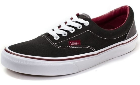 Tênis Vans Era Pop Black Rhubarb Novo E Original