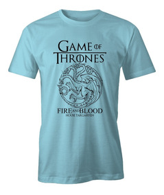 Camisa Game Of Thrones Targaryen Got 100% Algodão