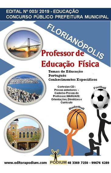 Apostila Concurso Prof Educação Física Florianópolis 2019
