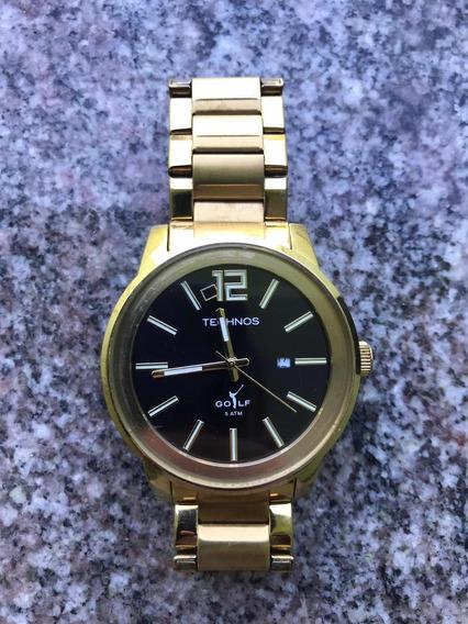 Relógio Technos Dourado Golf
