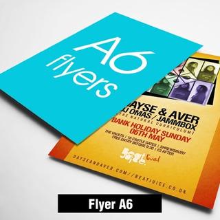 Volantes Publicitarios, Flyer - A6(10.5x15 Cm)-couche Brillo