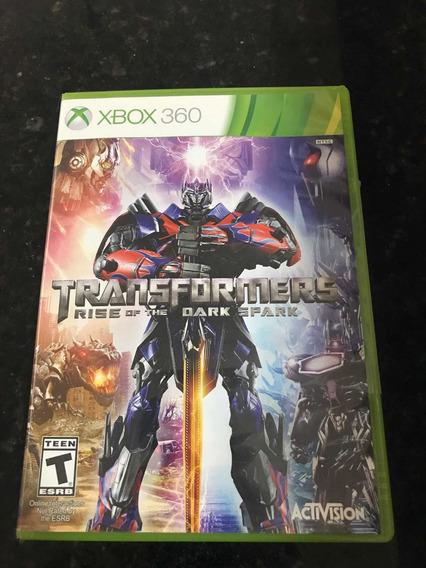Jogo Xbox 360 Transformers Rise Of The Dark Spark Original