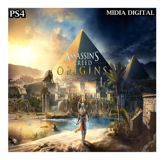 Assassins Creed Origins Ps4 Mídia Digital Primaria Promoção