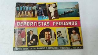 Album Deportistas Peruanos - Lleno - Casi 10 Puntos - 650 So