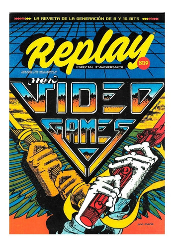 Replay #19 - Revista Videojuegos Retro - Sinclair Spectrum