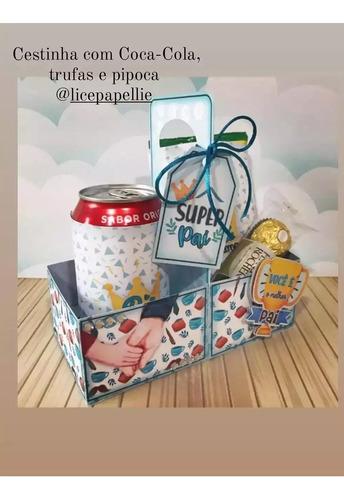 Imagem 1 de 1 de Caixa Lanche Para Dia Dos Pais