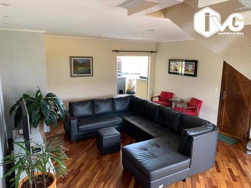 Apartamento Duplex À Venda, 200 M² Por R$ 800.000,00 - Jardim Bom Clima - Guarulhos/sp - Ad0004