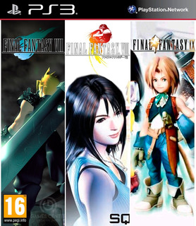 Final Fantasy 7 - 8 - 9 Ps3 Digital Español Gcp