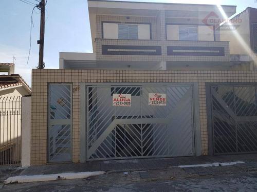 Sobrado Com 3 Dormitórios À Venda, 200 M² Por R$ 750.000,00 - Vila Erna - São Paulo/sp - So0013
