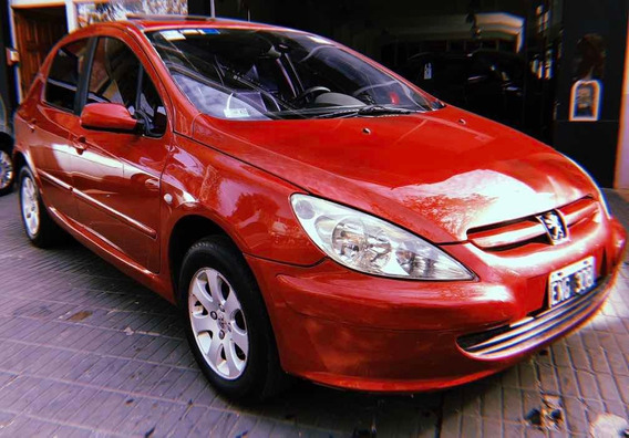 Peugeot 307 Xs Premium 2.0 Tiptronic 2004 Con Cuero Y Techo.