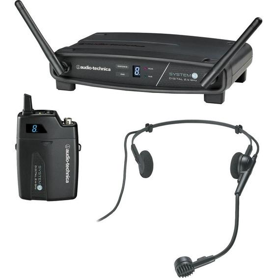 Microfone Sem Fio Facial System 10 Atw-1101/h Audio-technica