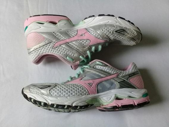 Tênis Mizuno/corrida/caminhada/ Treino/usado/feminino/38
