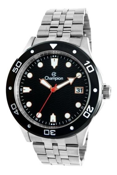 Relógio Masculino Champion Prata Ca31453t - Super Barato