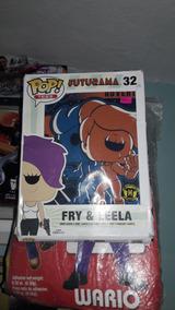 Playera Funko Pop Tees Fry & Leela Futurama Envío Incluido