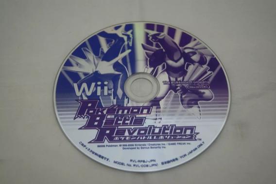 Jogo Wii - Pokemon Battle Revolution (japones)