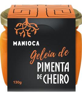 Geleia De Pimenta De Cheiro 130g Manioca - 100% Natural