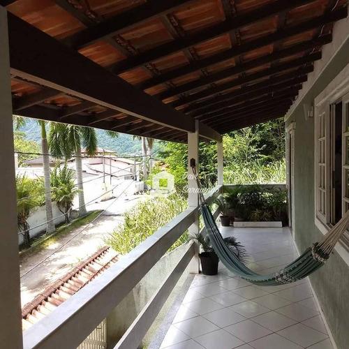 Casa Com 3 Dormitórios À Venda, 191 M² Por R$ 560.000,00 - Maravista - Niterói/rj - Ca0012