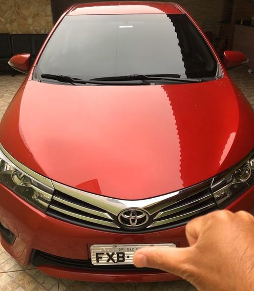 Toyota Corolla Xei Automático Multi Drive 2015 Vermelho Novo