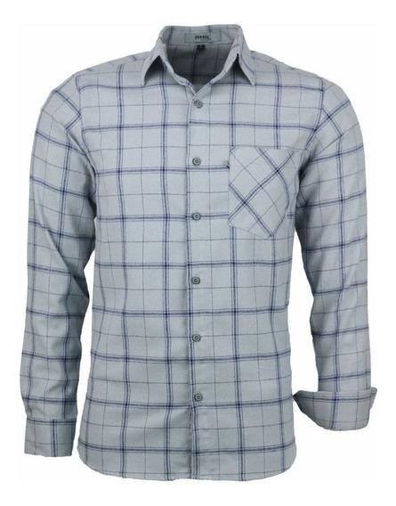 Camisa Garnet Manga Longa Tradicional Algodão Flanela