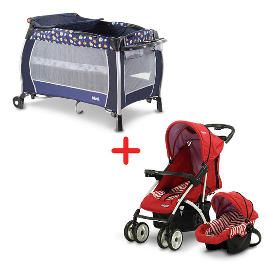 Combo Cochecito Travel System + Practicuna Bebesit