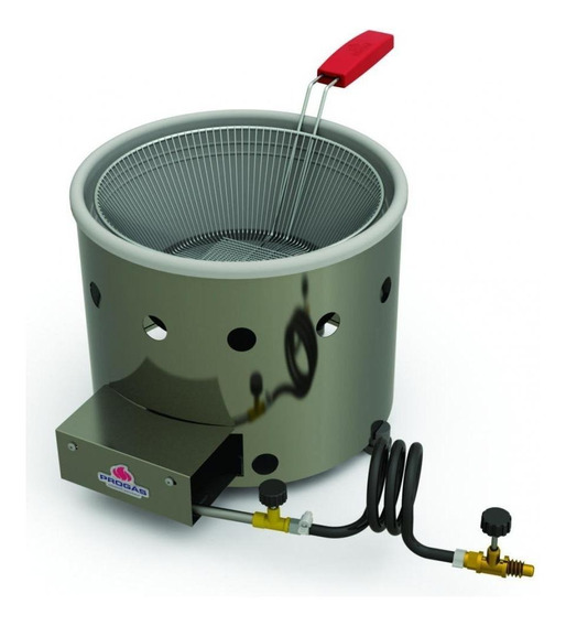 Fritadeira industrial Progás PR-310 G prata