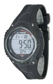 Reloj Digital X-time Xt002 150 Memorias Sumergible 41mm Ø