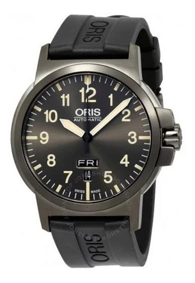 Relógio Suíço Oris Bc3 Advanced Automatico Cinza/borracha